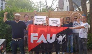 Solidaritätsfoto für Jorge und Pablo